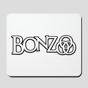 Bonzo - John Bonham Drummer design Mousepad