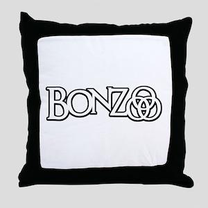 Bonzo - John Bonham Drummer design Throw Pillow