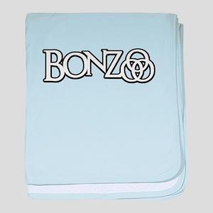 Bonzo - John Bonham Drummer design baby blanket