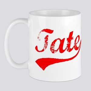 Vintage Tate (Red) Mug