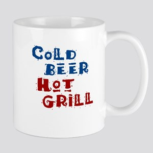 Cold Beer Hot Grill - Mug
