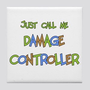 Damage Controller Tile Coaster