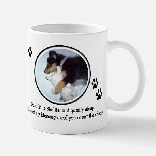 Sweet Sleeping Puppy Mug