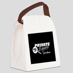 Private Eyes Lash Studio logo black Canvas Lunch B