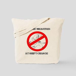 No Heroic Efforts Tote Bag