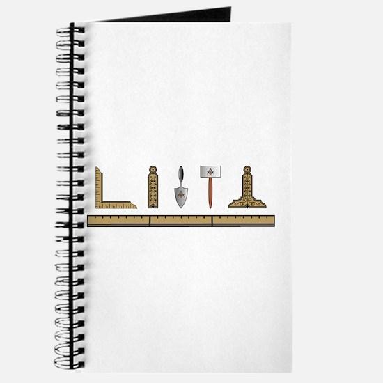 Masonic Working Tools No. 4 Journal