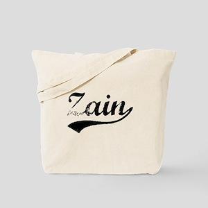 Vintage Zain (Black) Tote Bag