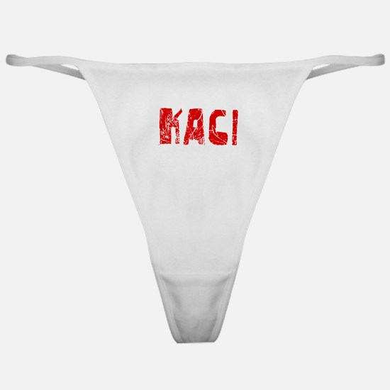 Kaci Faded (Red) Classic Thong