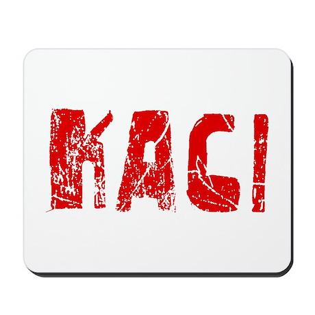 Kaci Faded (Red) Mousepad