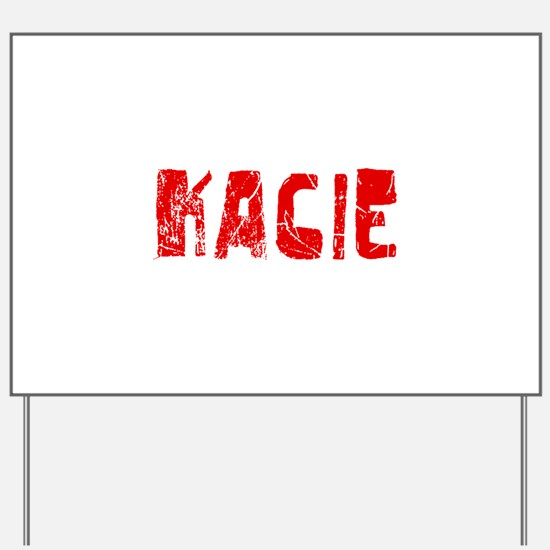 Kacie Faded (Red) Yard Sign
