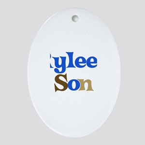 Rylee's Son Oval Ornament