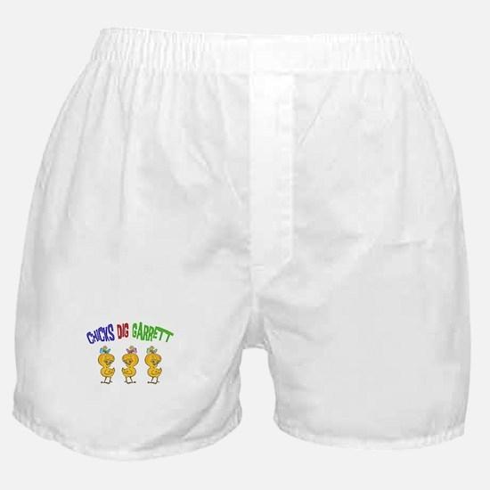 Chicks Dig Garrett Boxer Shorts