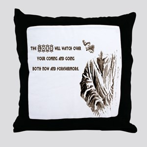 The LORD will Watch Throw Pillow