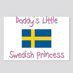 Daddy's little Swedish Princess Postcards (Package
