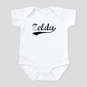 Vintage Zelda (Black) Infant Bodysuit