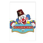 Proud Shriner Clown Postcards (Package of 8)