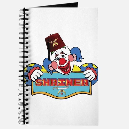 Proud Shriner Clown Journal