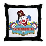 Proud Shriner Clown Throw Pillow