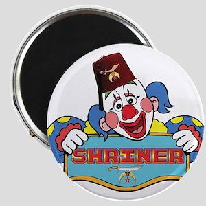 Proud Shriner Clown Magnet