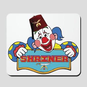 Proud Shriner Clown Mousepad