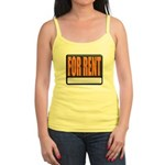 For Rent Sign Jr. Spaghetti Tank