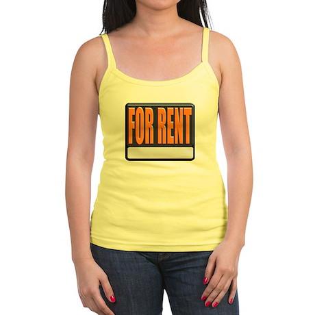 For Rent Sign Jr. Spaghetti Tank
