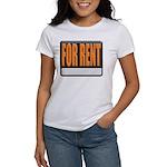For Rent Sign Women's T-Shirt
