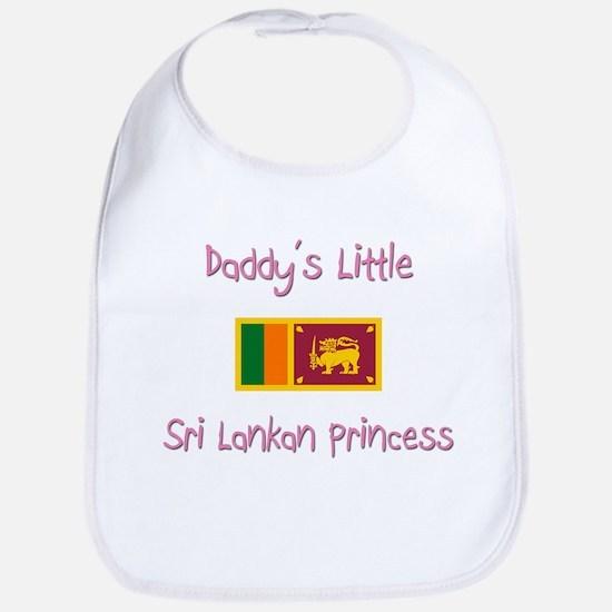 Daddy's little Sri Lankan Princess Bib