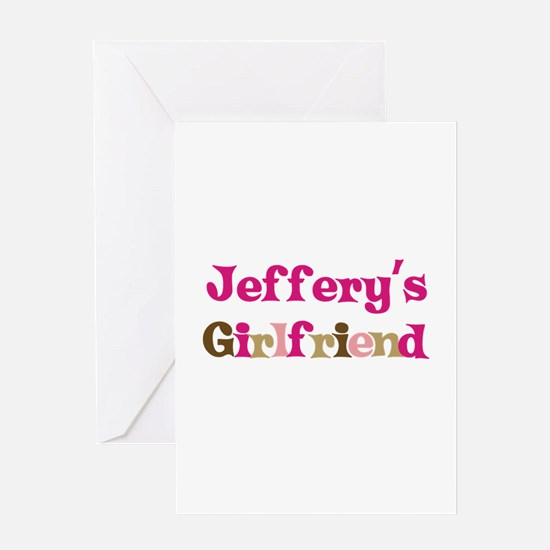 Jeffery's Girlfriend Greeting Card