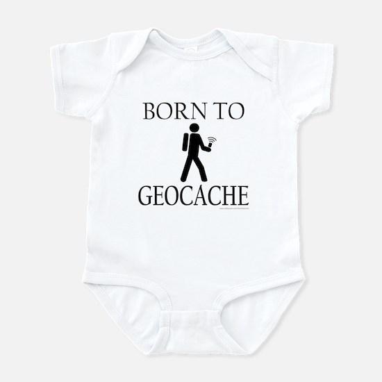 BORN TO GEOCACHE Infant Bodysuit