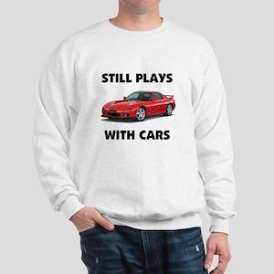 PLAYS WITH CARS Sweatshirt