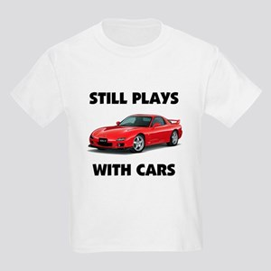 PLAYS WITH CARS Kids Light T-Shirt