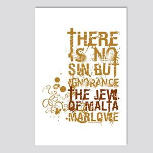 The Jew of Malta Postcards (Package of 8)