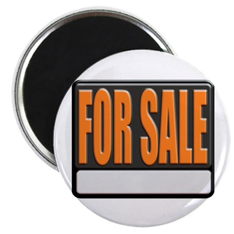 For Sale Sign Magnet