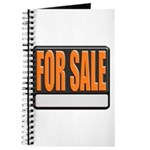 For Sale Sign Journal