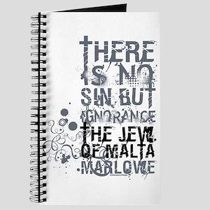 The Jew of Malta Journal