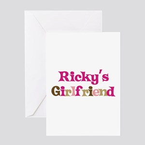 Ricky's Girlfriend Greeting Card