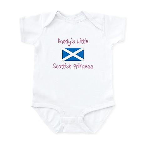 Daddy's little Scottish Princess Infant Bodysuit