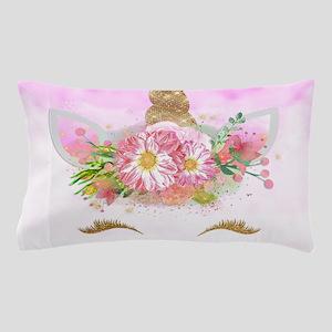 Fantasy Pink Unicorn Pillow Case