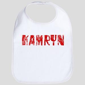 Kamryn Faded (Red) Bib