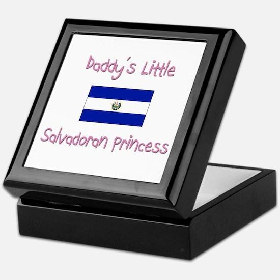 Daddy's little Salvadoran Princess Keepsake Box