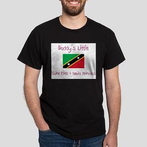 Daddy's little Saint Kitts & Nevis Princess Dark T