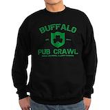 Buffalo pub crawl Sweatshirt (dark)