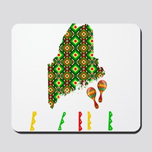 Cinco De Mayo Maine Mousepad