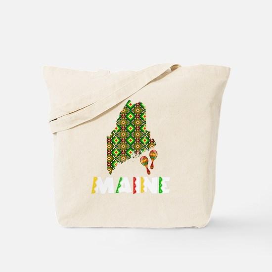 Cinco De Mayo Maine Tote Bag