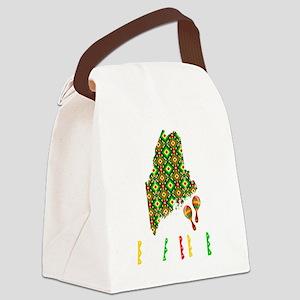 Cinco De Mayo Maine Canvas Lunch Bag