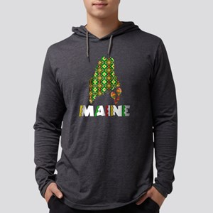 Cinco De Mayo Maine Long Sleeve T-Shirt