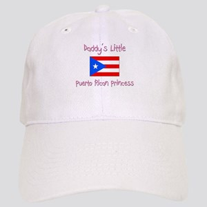 Daddy's little Puerto Rican Princess Cap
