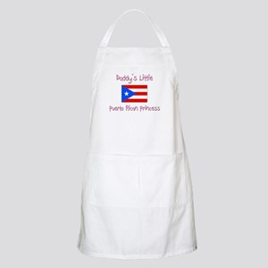 Daddy's little Puerto Rican Princess BBQ Apron
