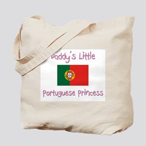 Daddy's little Portuguese Princess Tote Bag